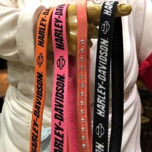 Set of Harley Davidson Headbands    NWOT